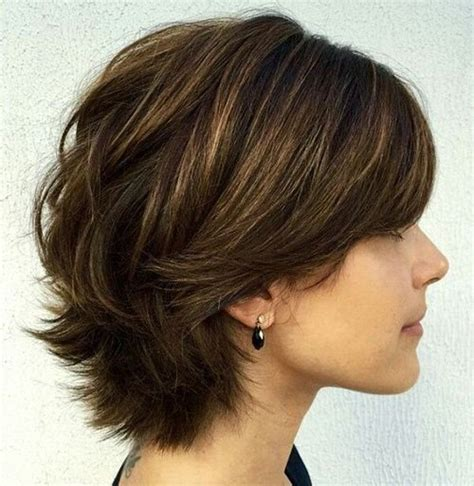 short shaggy bob hair for over 70 haircuts fine hair and bobs on pinterest