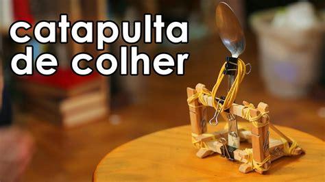 Catapulta de colher (brinquedo) - YouTube