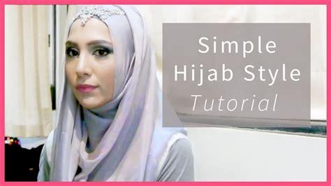easy hijab tutorial   steps  school work formal