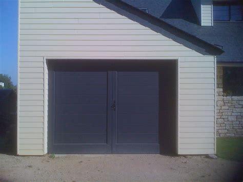 frais porte de garage de plus porte battant