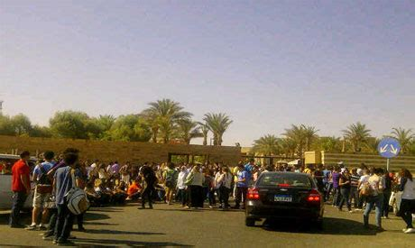 American In Cairo Mba Fees by Auc Reopening After Students Protest Rising Fees
