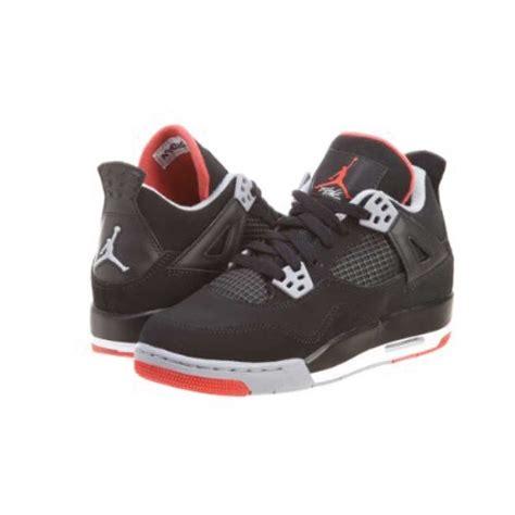 basketball jordans shoes nike air 4 retro bg basketball shoekids