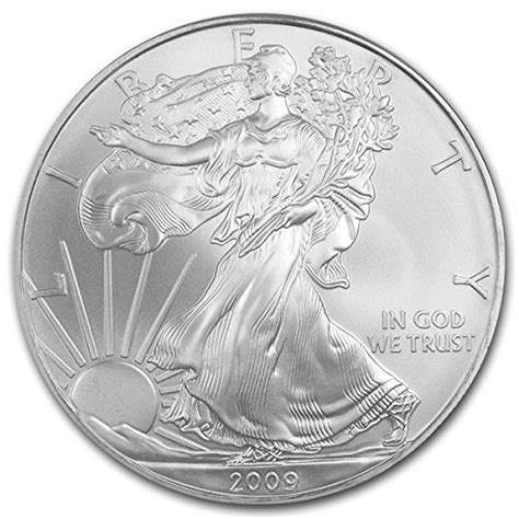 1 Oz Silver Dollar Worth - 2009 1 oz american silver eagle 999 silver dollar