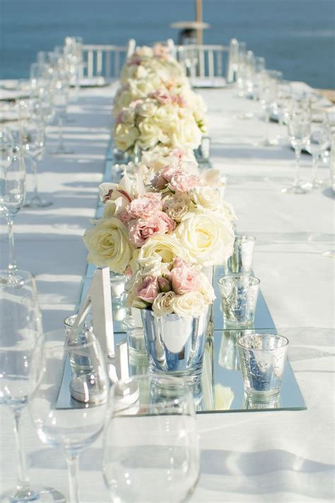 1000 ideas about mirror centerpiece on simple