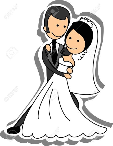 wedding clipart wedding picture and groom in royalty free