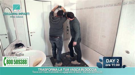 sostituzione vasca da bagno costi sostituzione vasca con doccia step by step edilgamma