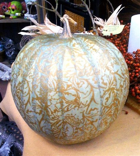 Decoupage Pumpkins - 228 best images about fall pumpkins on