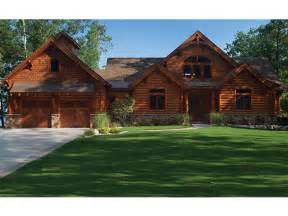 eplans log cabin house plan 5140 square and 5 2