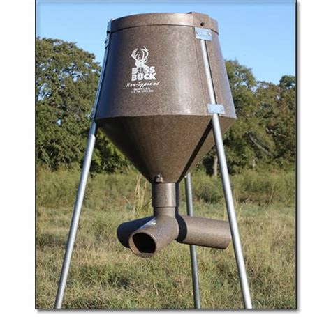 Protein For Deer Feeders protein wildlife gravity feeders from buck systems are great