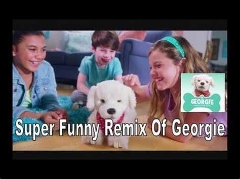 georgie interactive puppy quot georgie interactive puppy 30 commercial quot remix quot the robot quot
