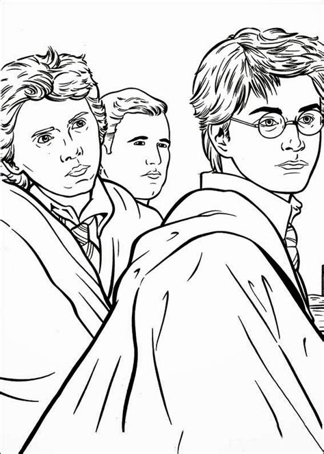 Coloring Pages 4u by Disegni Da Colorare Harry Potter