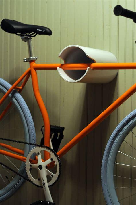 Colorful Wall Hooks three ingenious bike hangers with unusual designs