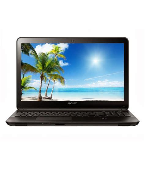 Hdd Laptop Sony Vaio sony vaio fit 15e laptop 4th intel i3 2gb ram 500gb hdd 39 37cm 15 5 es