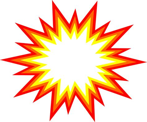 eps format transparent 6 starburst explosion comic vector png transparent svg
