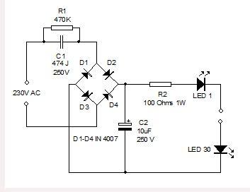 Led Driver 5 Watt 220vac 51watt bright led l electronics hobby