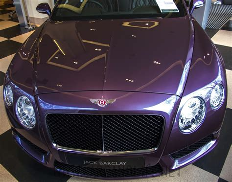 purple bentley purple bentley continental gtc in hr owen london