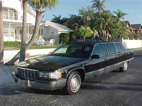 automobile air conditioning service 1996 cadillac fleetwood seat position control buy used 1996 cadillac fleetwood 9 passenger 6 door limousiene limo in port richey florida
