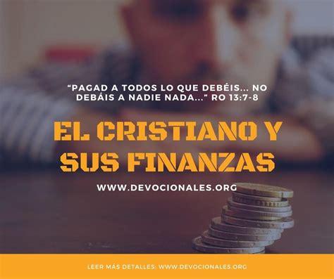 El Cristiano Y Sus Finanzas | el cristiano y sus finanzas la biblia y las finanzas