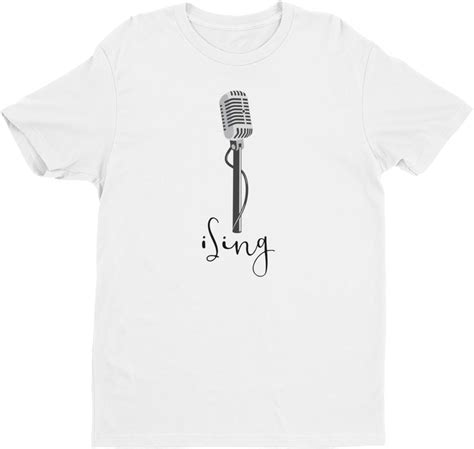 vocalist t shirt i sing t shirt s sleeve designed by squeaky