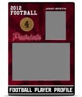 Football Trading Card Template by Football Trading Card Template Teamtemplates