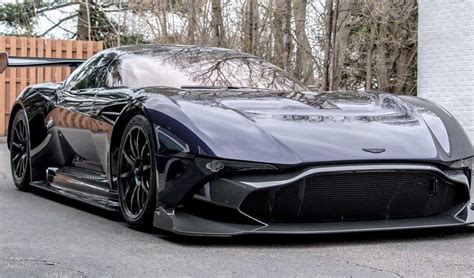 Purple Aston Martin by Second Aston Martin Vulcan Delivered To United States