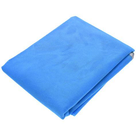 Tikar Lipat Jakarta sandbeach mat tikar pantai lipat blue jakartanotebook