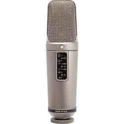 rode microphone rode microphones nt2 a studio condenser microphone bundle