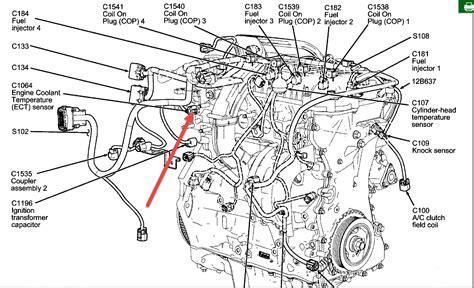 ford fusion engine diagram 07 ford fusion engine temperature sensor 07 tractor