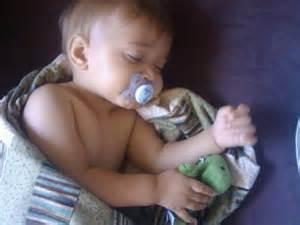 my sweet boy sleeping