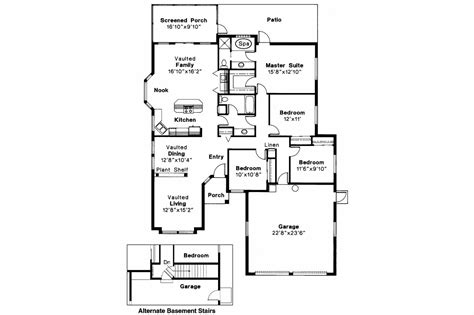 mediterranean floor plan mediterranean house plans alessandro 11 077 associated