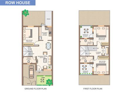 Small Cabin Floor Plans Free Row House Plans Plans For Row Houses Home Design And