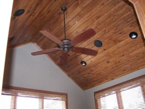 Wooden Vaulted Ceiling by Vaulted Wood Ceiling House And Home