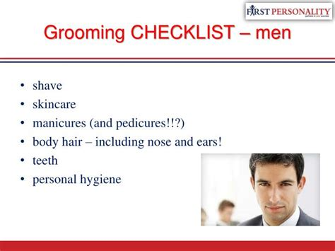 For Your Hair And Personality Grooming by Ppt Personal Grooming Hygiene Powerpoint Presentation
