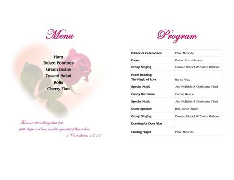 banquet service layout eclectic perspectives graphic design desktop publishing