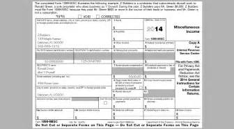 Irs 1099 Misc Template by Fast Answers About 1099 Forms For Independent Workers