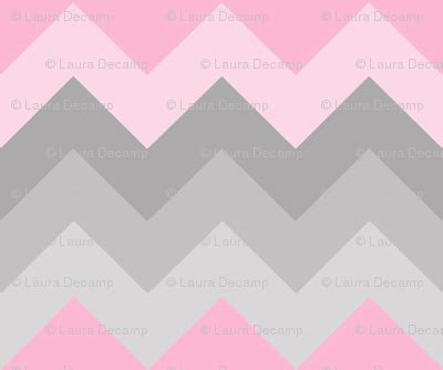 Hijacket Original Hj12 Basic Grey Baby Pink pink grey gray ombre chevron large fabric dec studios