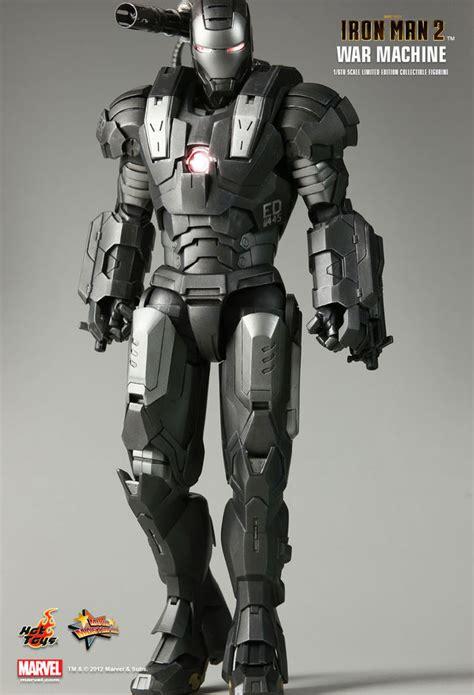 War Machine Diecast Toys Ironman Figure toys 1 6 marvel iron 2 mms120 war machine