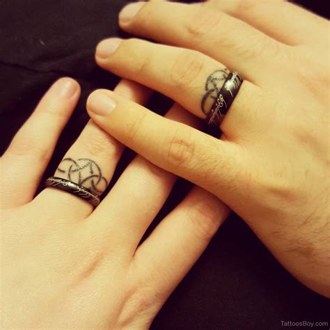 tattoos wedding rings designs ring tattoos designs pictures