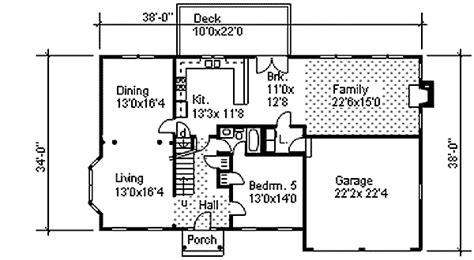 colonial floor plans two story colonial with open floor plan 9551dm