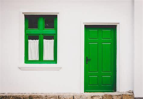 Green Doors by Green Door Window Bossfight