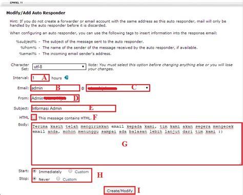 membuat email otomatis dengan php membuat pembalas email otomatis auto responder di cpanel