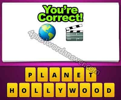 globe film emoji guess the emoji world globe and movie clapperboard 4