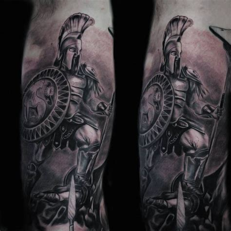 90 legendary spartan tattoo ideas discover the meaning