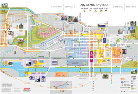 printable map glasgow city centre printable map of glasgow city centre printable maps