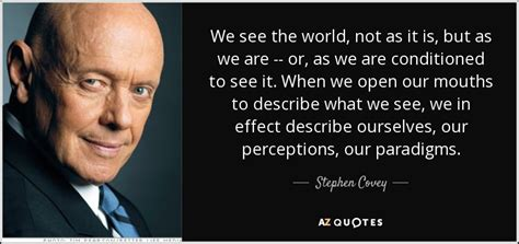 stephen covey quote    world