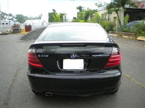 Sell Used 2002 Mercedes C230 Kompressor Coupe 2 Door