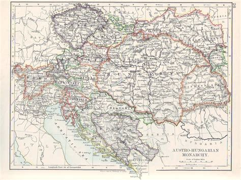 austro hungarian empire map maps of galicia and krystynopol