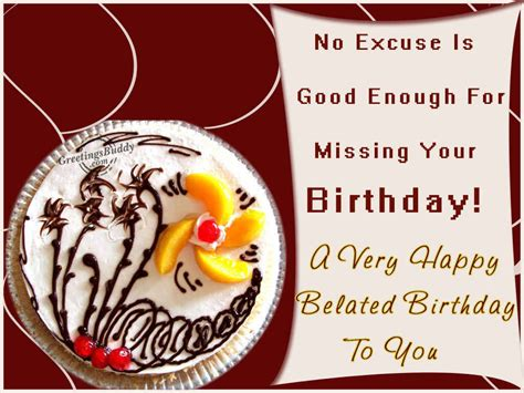 Late Happy Birthday Wishes Comments Belated Happy Birthday Greetings Graphics Pictures