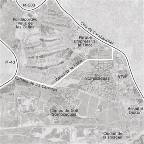mapa de zona prado de somosaguas la finca pozuelo de alarcon idealista