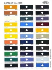 Porsche Color Codes 1957 Chevrolet Paint Color Chips Auto Paint Colors